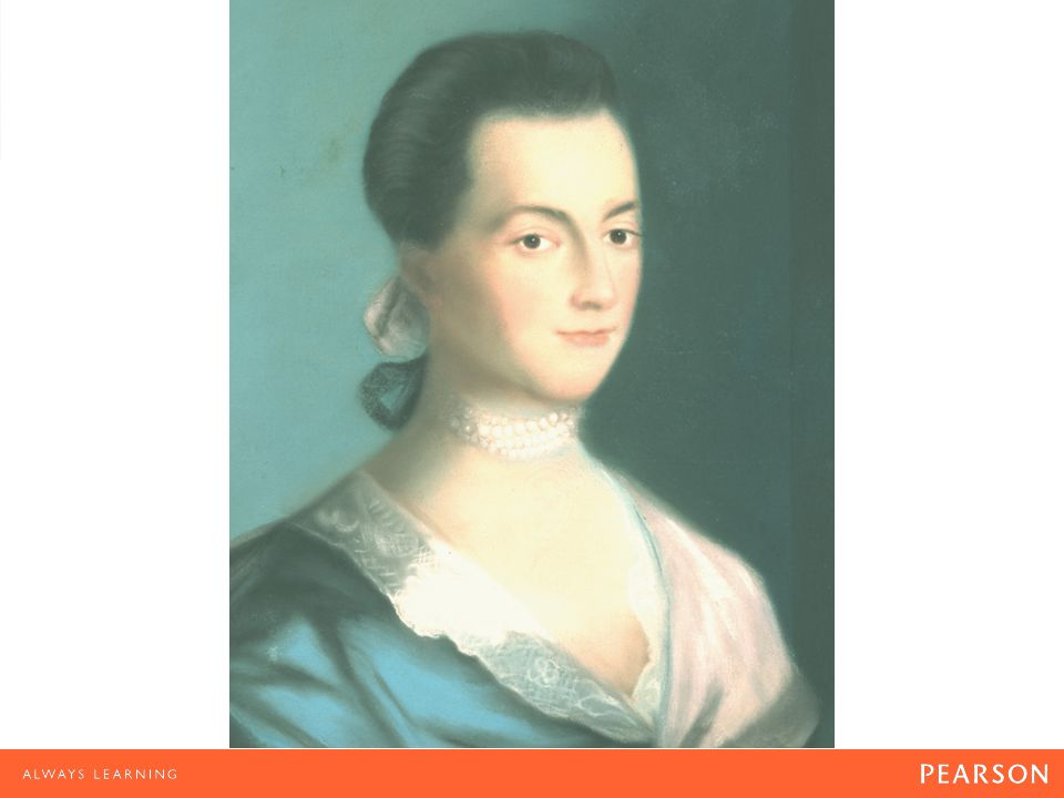 Abigail Adams Benjamin Blyth painted this portrait of Abigail Adams, wife of the future President John Adams, c.