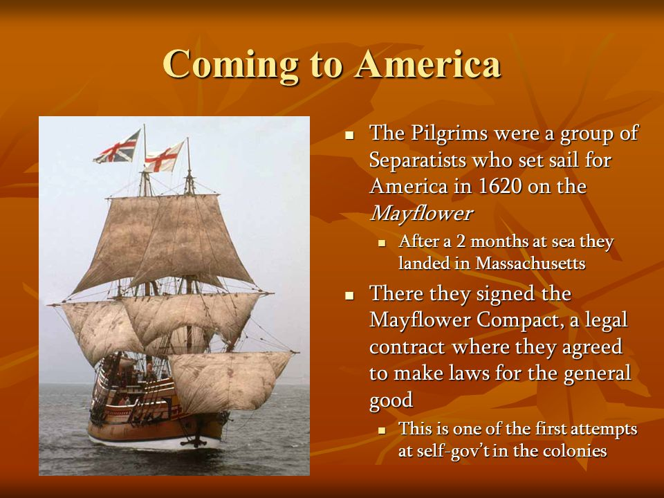Maryland & the Carolinas In 1634 Lord Baltimore established the colony of Maryland as a refuge for English Catholics In 1634 Lord Baltimore established the colony of Maryland as a refuge for English Catholics Catholics were also being persecuted in England for their beliefs Catholics were also being persecuted in England for their beliefs The Carolinas and Georgia also started out as land grants from King Charles II The Carolinas and Georgia also started out as land grants from King Charles II In southern Carolina rich rice plantations grew up along rivers In southern Carolina rich rice plantations grew up along rivers Their economy depended heavily on slave labor Their economy depended heavily on slave labor In northern Carolina mainly had small farmers In northern Carolina mainly had small farmers These differences led to their official separation by the king These differences led to their official separation by the king