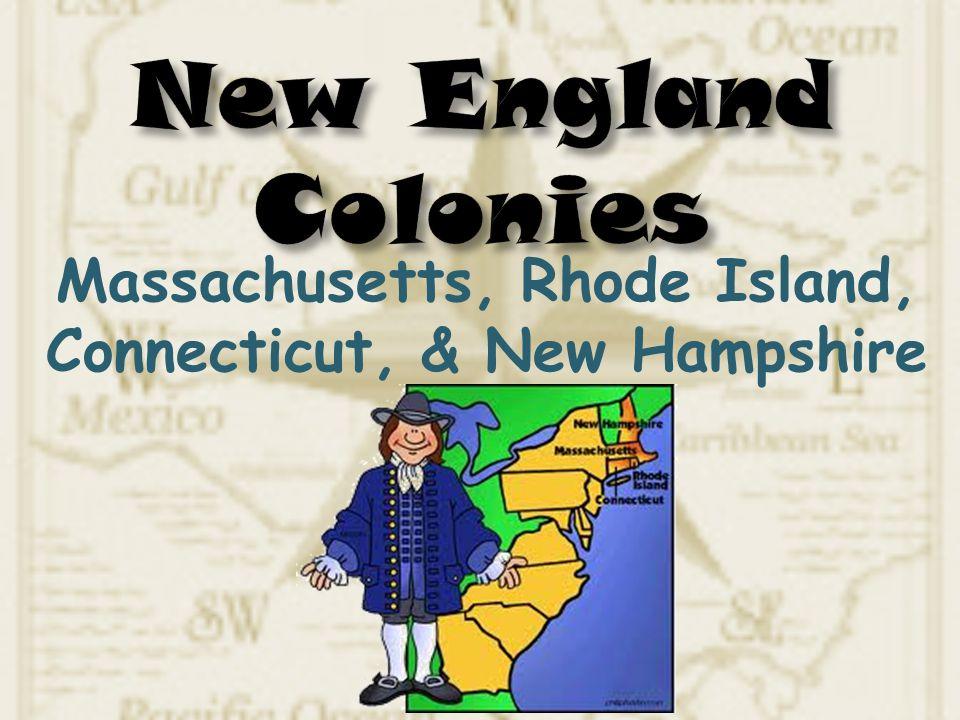 Massachusetts, Rhode Island, Connecticut, & New Hampshire