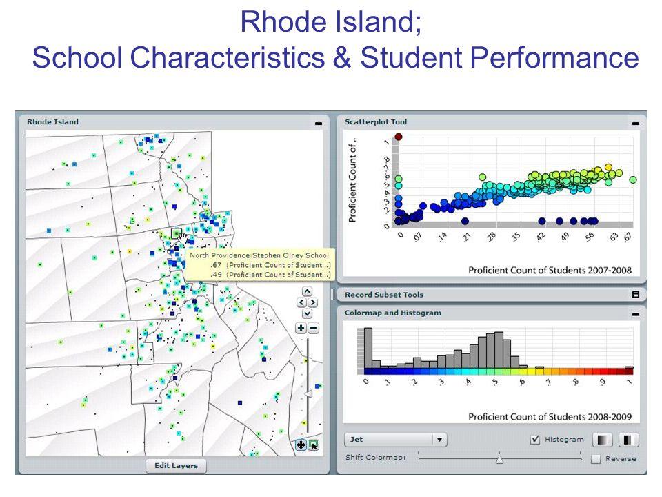 Rhode Island; School Characteristics & Student Performance