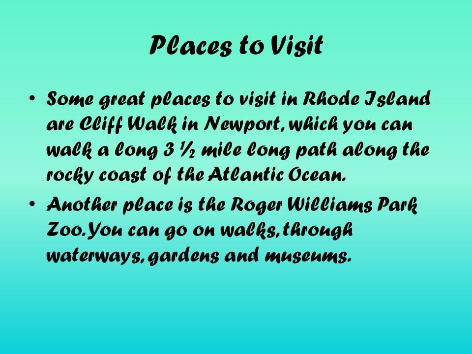 Additional Facts Rhode Island state zoo has polar bears, penguins, giraffes, and elephants.