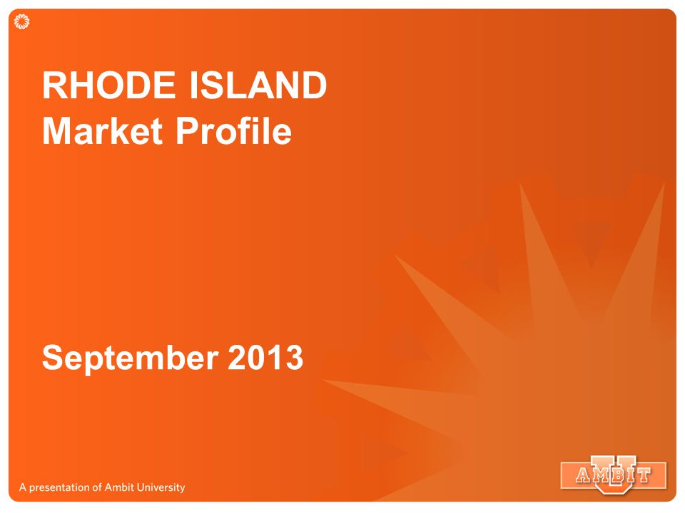 Thank you for your help in building the Rhode Island Market!