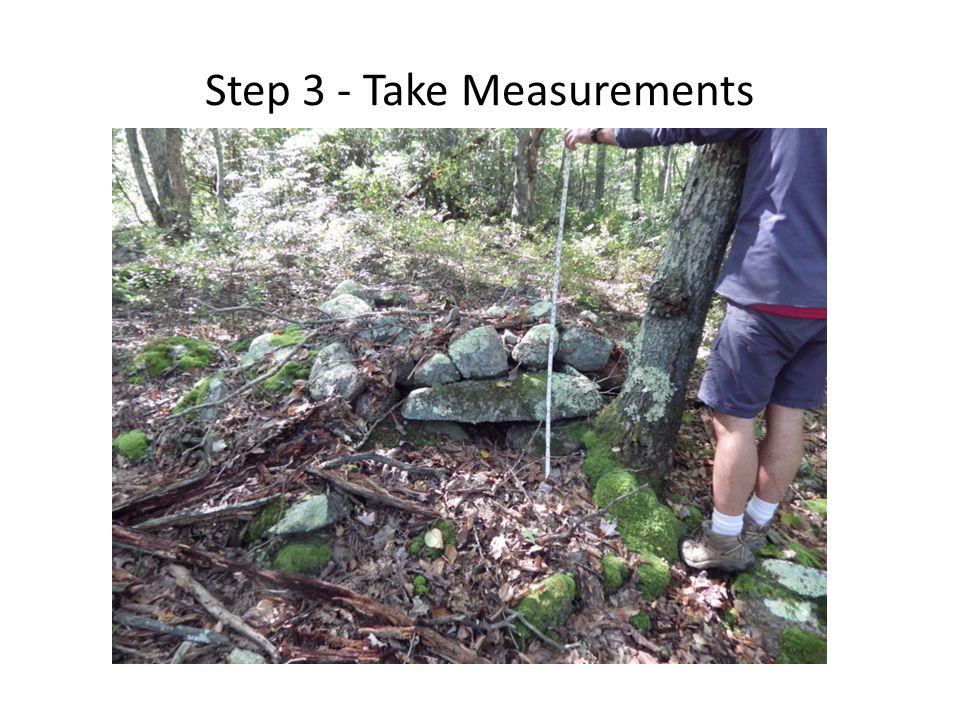 Step 3 - Take Measurements