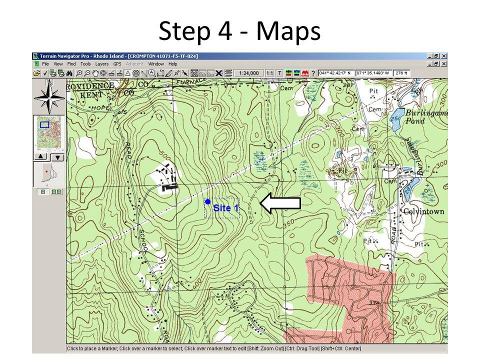 Step 4 - Maps