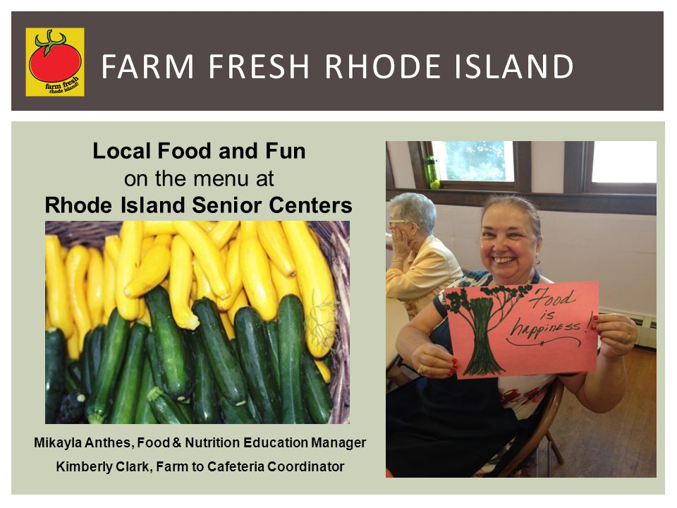 Farm Fresh Rhode Island is a 501c3 not-for-profit founded in 2004.