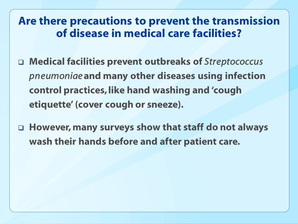 What are the recommendations for reducing the risk of disease transmission in clinical setting.