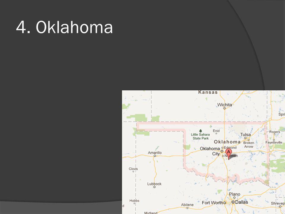 4. Oklahoma