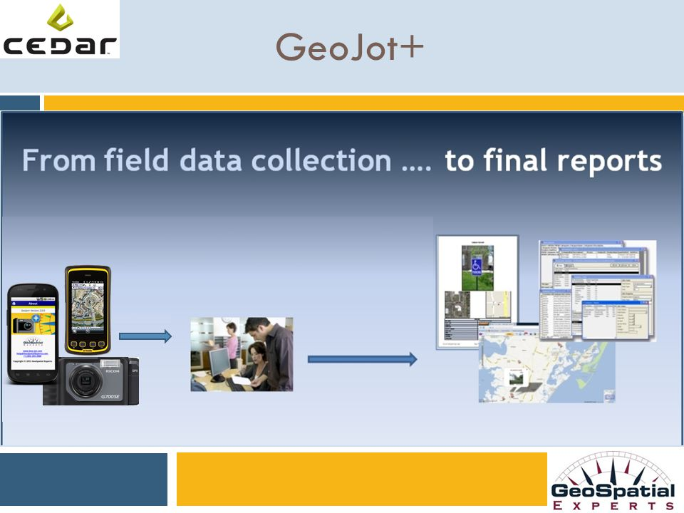 GeoSpatial Experts, Inc. Founded in 2001  World leader in photo mapping software for business.