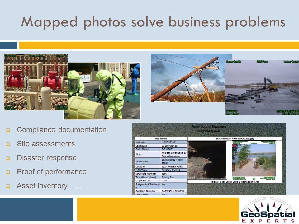 GeoJot 360™ Implementation Blueprint Workflow design, list authoring, report & template design, training 1.