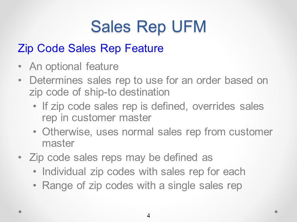 Sales Rep UFM Sales Rep UFM...