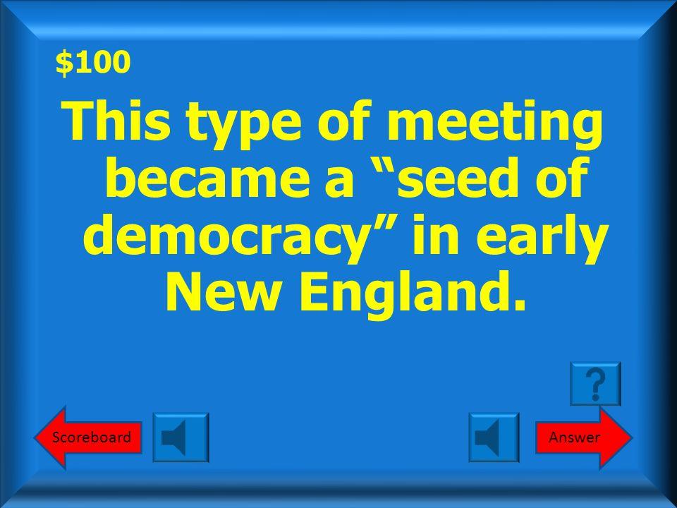 $500 Carolina Regulator Movement What is the Carolina Regulator Movement? Round 1