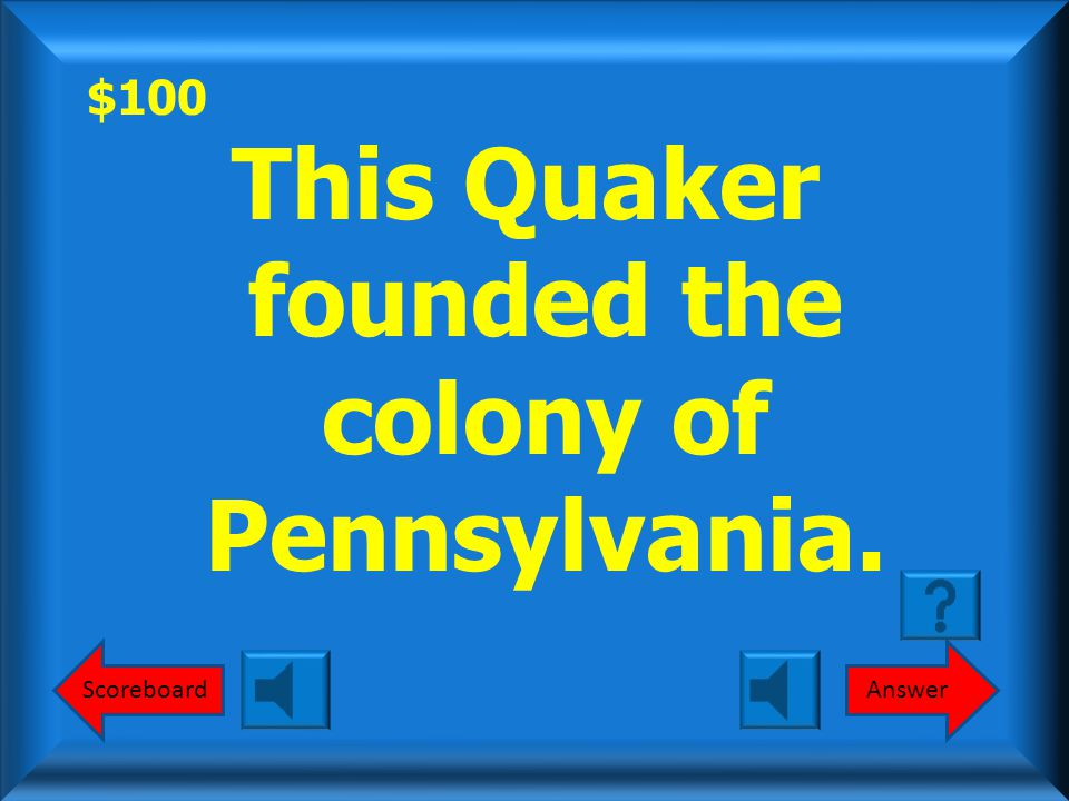 $800 Round 2 Pequot War? What is the Pequot War?