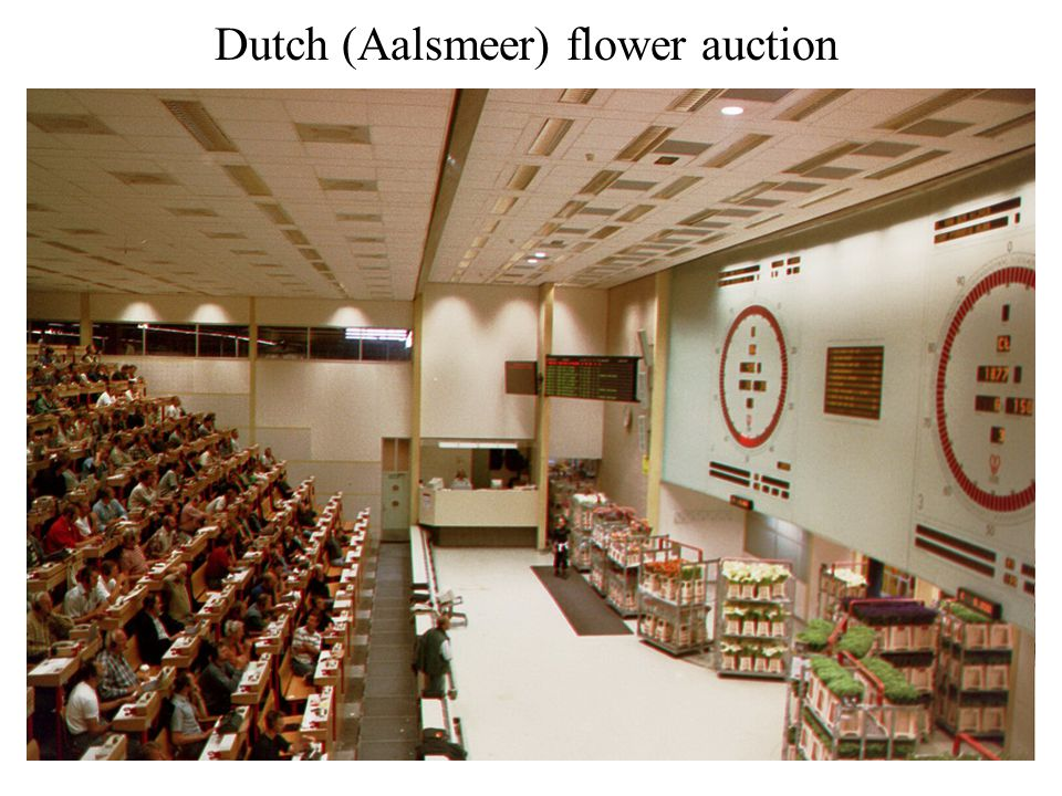 Dutch (Aalsmeer) flower auction