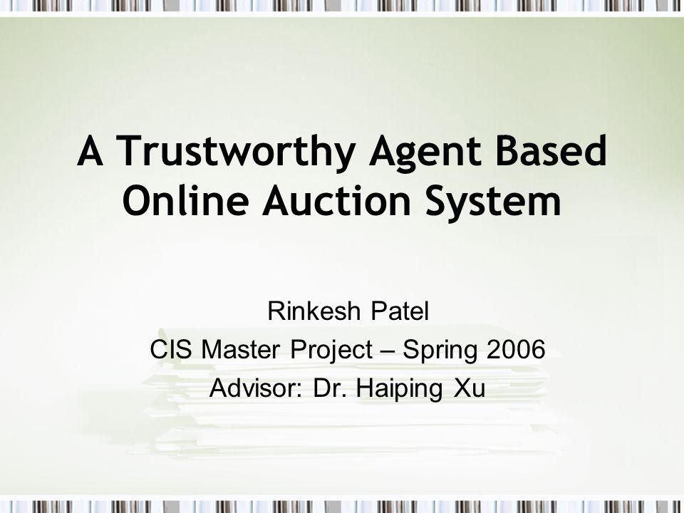 Trustworthy Auction Server