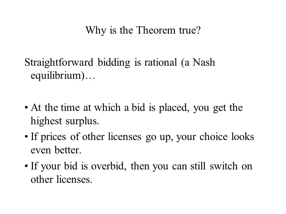 Why is the Theorem true.
