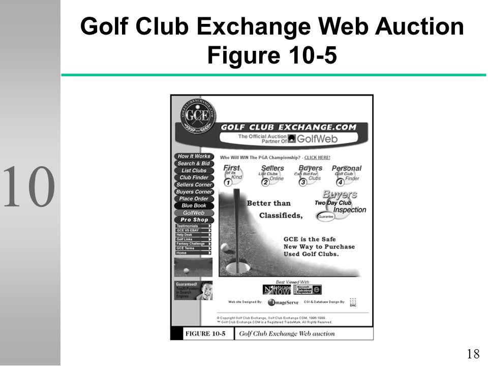18 10 Golf Club Exchange Web Auction Figure 10-5