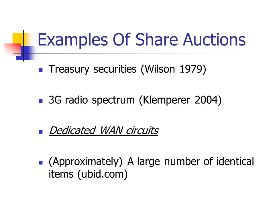 Factors Affecting Collusion In Repeated Interactions Repeated share auctions are most popular Various collusive factors cited in prior literature (Vives 1999) The number of firms ( n ) Time lag between two auctions (Time Lag) Frequency of prior auction experience (Auction Times) Frequency of interaction among bidders (Interaction) Weight of the future Multi-market contact …