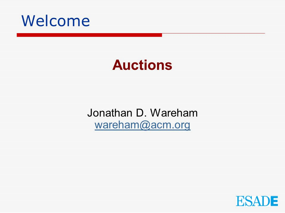 What is an auction .
