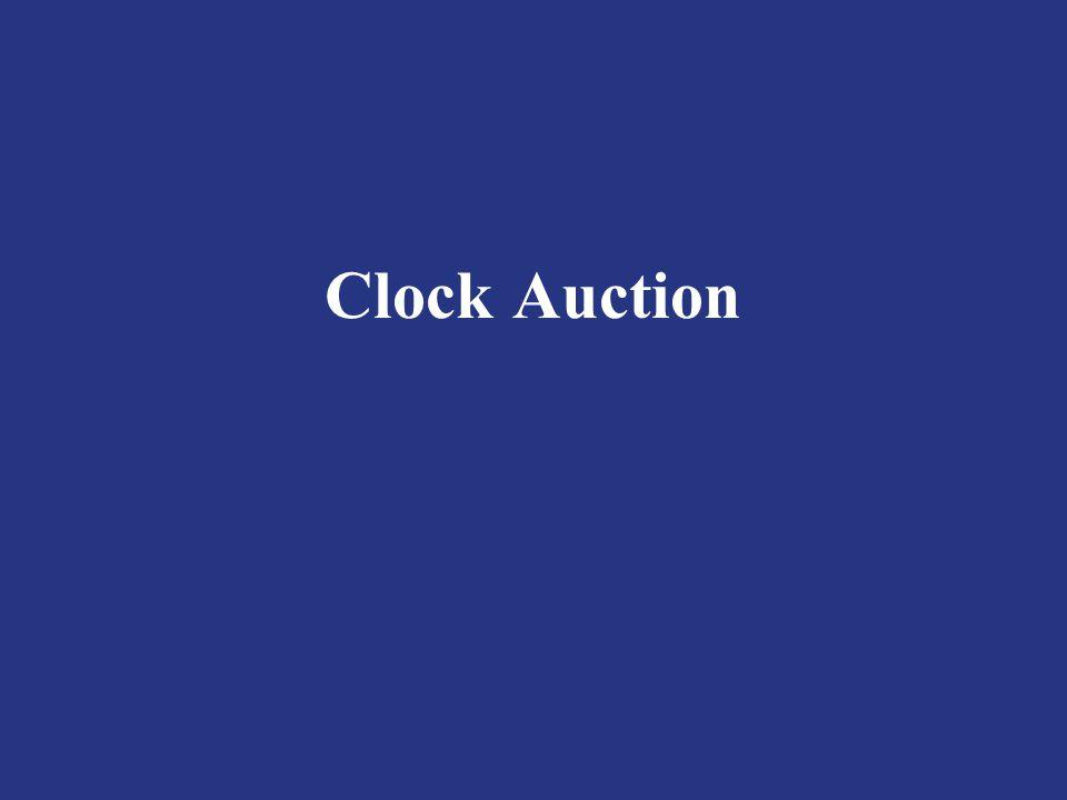 Clock Auction