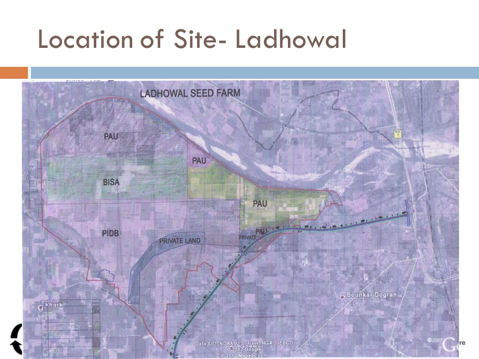 Location of Site- Ladhowal Pre Bid Conference
