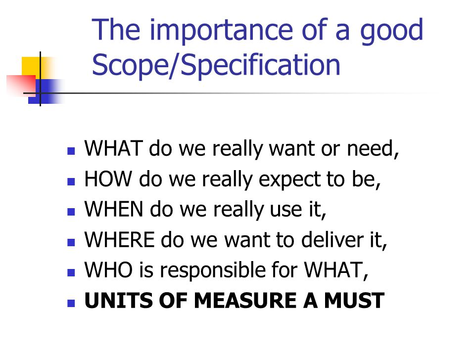 Seminar Scope/Specification Practice We need two courageous volunteers to participate in the process of creating a good specification: Example #1 Volunteer #1 Example #2 Volunteer #2