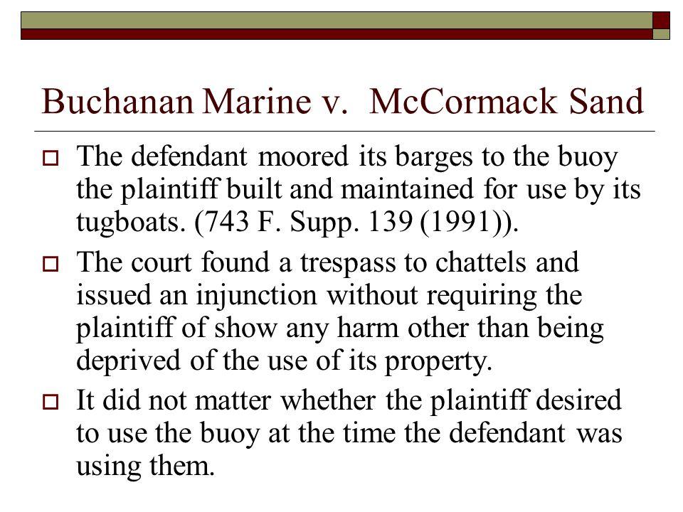Buchanan Marine v.