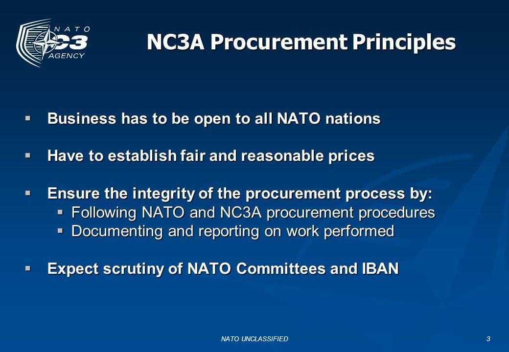 NATO UNCLASSIFIED14 export addresses