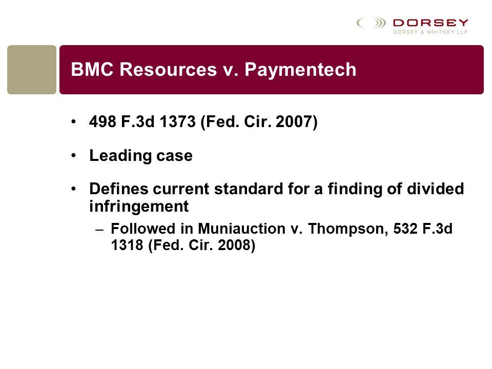 BMC Resources v. Paymentech 498 F.3d 1373 (Fed. Cir.