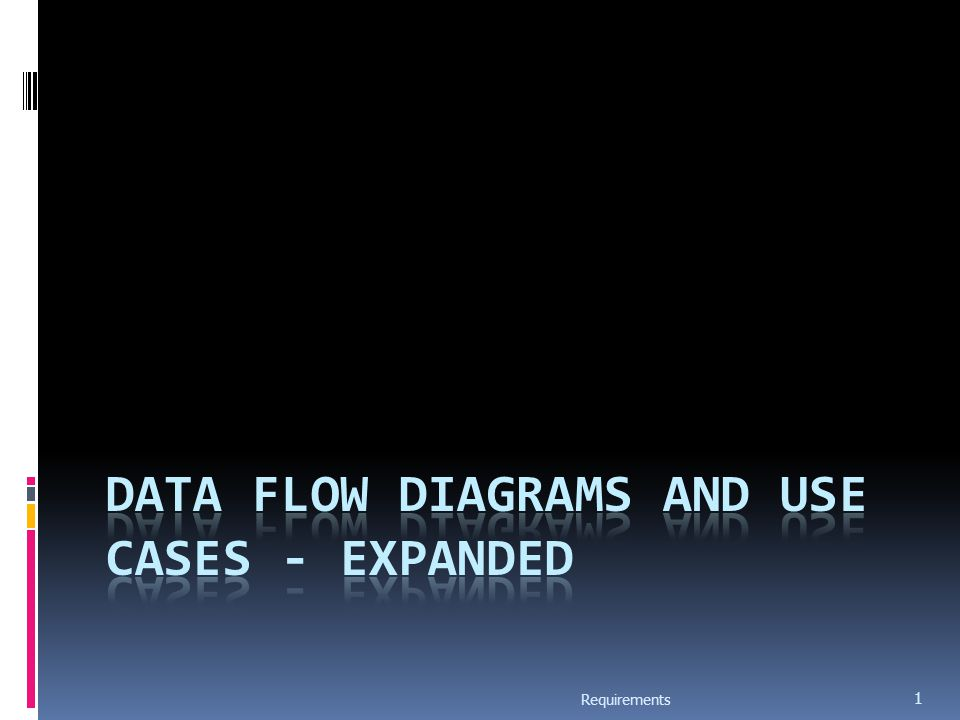 Data Flow Modeling  Widely used; focuses on functions performed in the system  Views a system as a network of data transforms through which the data flows  Uses data flow diagrams (DFDs) and functional decomposition in modeling  The Structured System Analysis and Design (SSAD) methodology uses DFD to organize information, and guide analysis Requirements 2