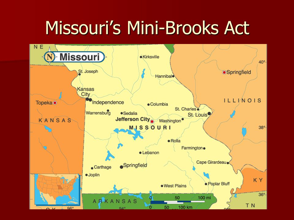 Missouri's Mini-Brooks Act