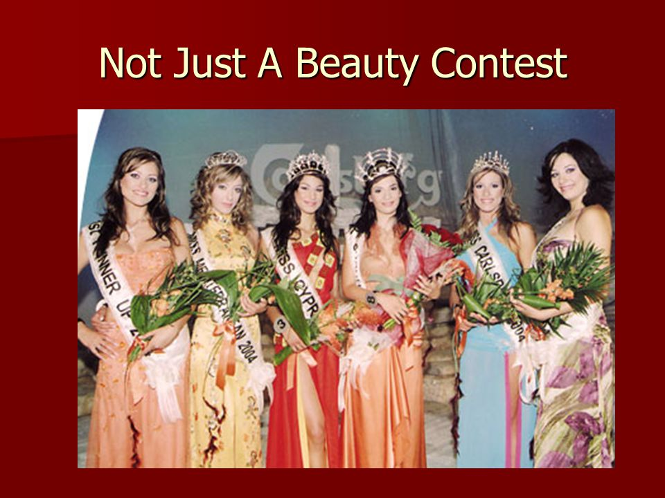 Not Just A Beauty Contest