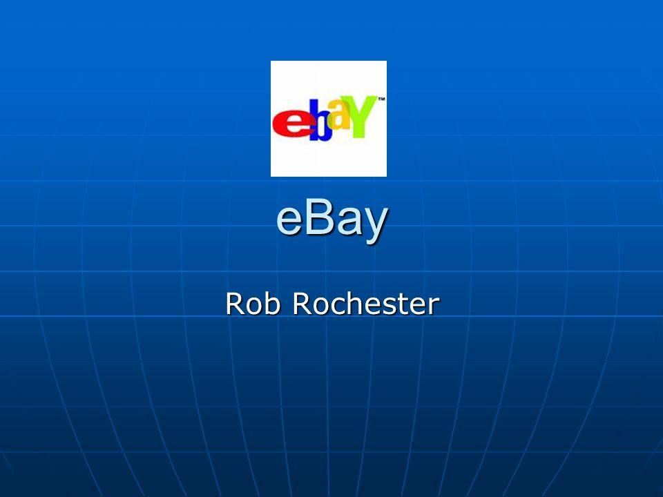 eBay Rob Rochester