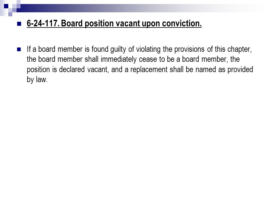 6-24-117. Board position vacant upon conviction.