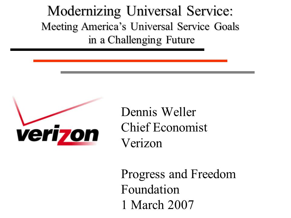 2 The World Has Changed t New competition, technology t Large companies forced to reinvent themselves t Change now coming to high cost areas 3Lines, minutes declining 3CETCs in two thirds of study areas t Challenge for universal service 3How to modernize the system for the future 3Adaptation, efficiency, market forces