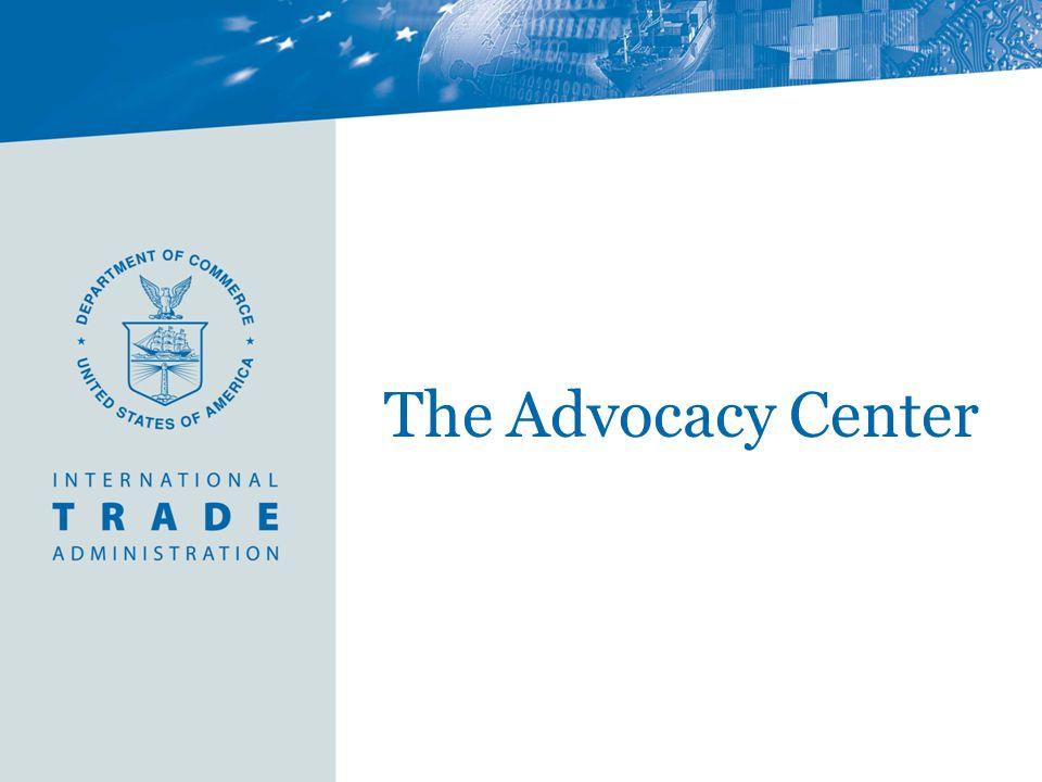 The Advocacy Center