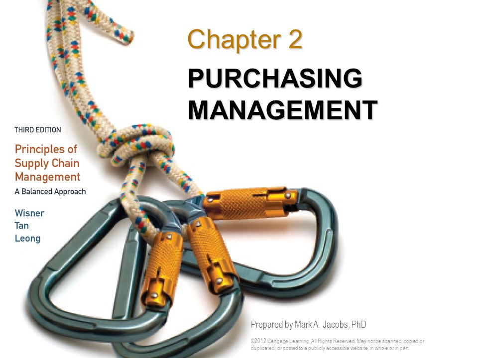 Figure 2.3 The Purchasing Process – Manual Purchasing (Continued)