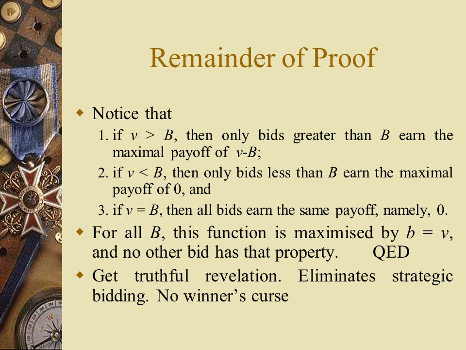 Remainder of Proof  Notice that 1.