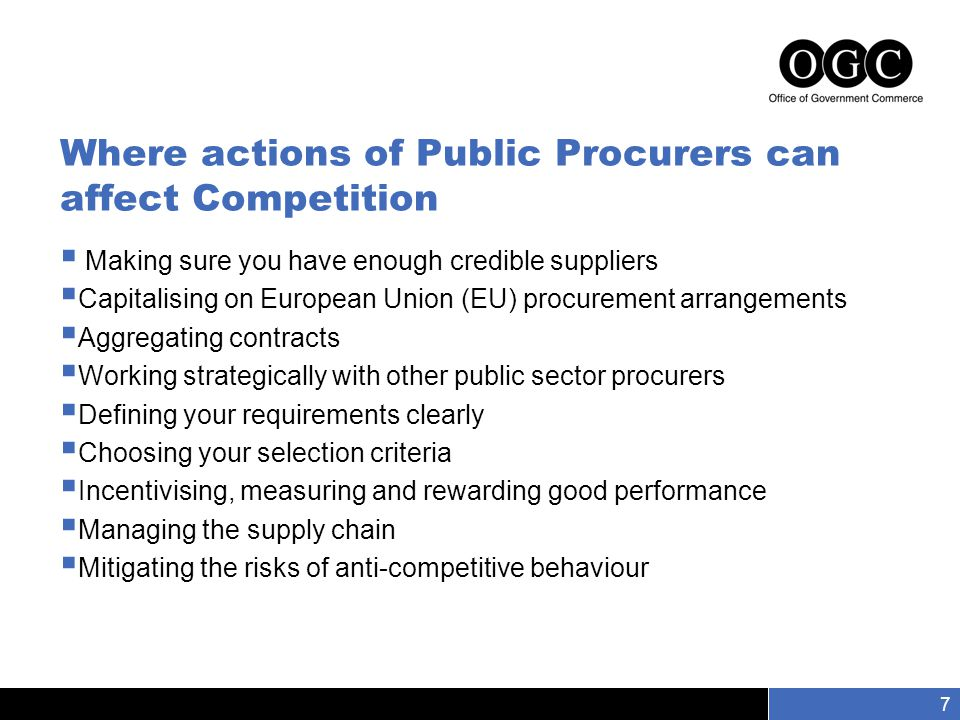 Slide number 8 8 Suspicious bidding patterns – things to look out for 1.