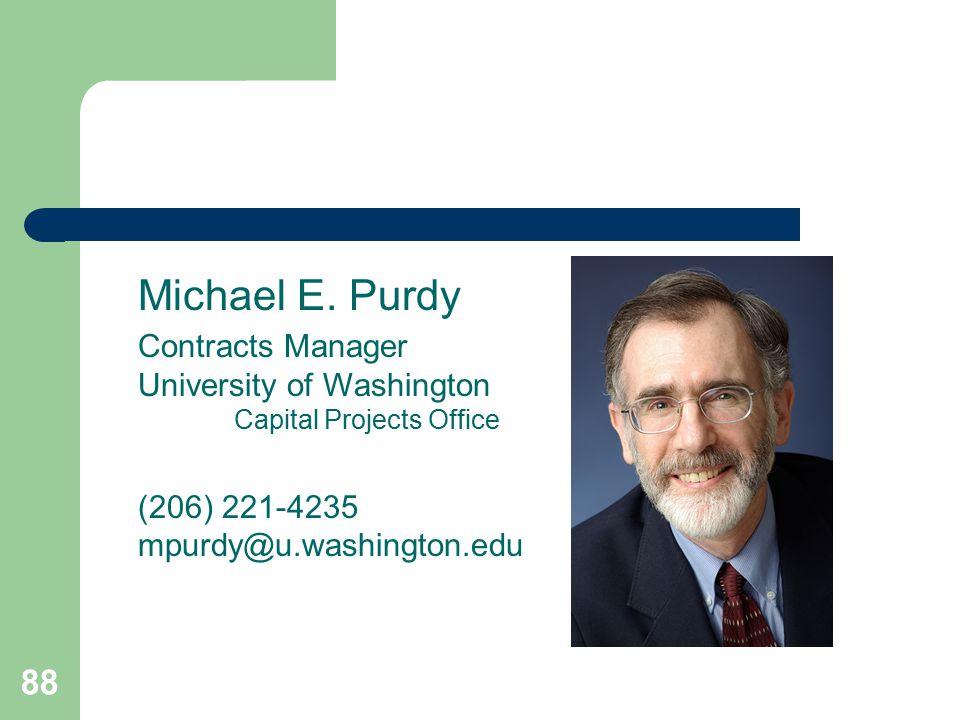88 Michael E.