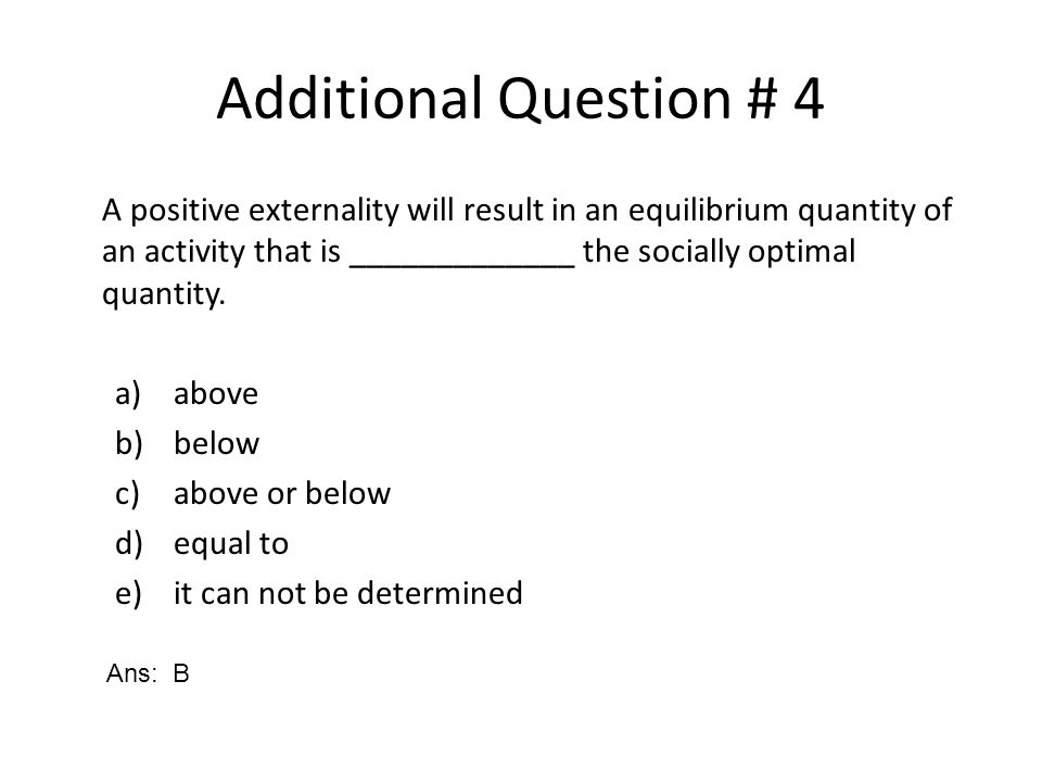 Which factor, if it were present, would lessen the ability of the Coase Theorem to solve an externality.