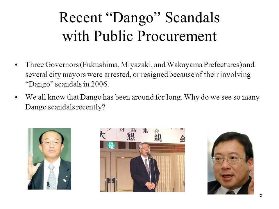 16 Data Public-works contracts worth a maximum of 70 million JPY (70% in number; 50% in value) –Study period: May 2001 – March 2004 (May 2002) discretionary procedure  transparent procedure –Types of Public works –rivers (14.9%); ports (10.2%); roads (41.8%) –bridges (2.2%); sewage (1.9%); erosion and torrent control (23.8%) Data identify the bidder and bid of each participating bidder, the winner, and the characteristics of each project Data contain valid bids of solo bidders (no JV bids)