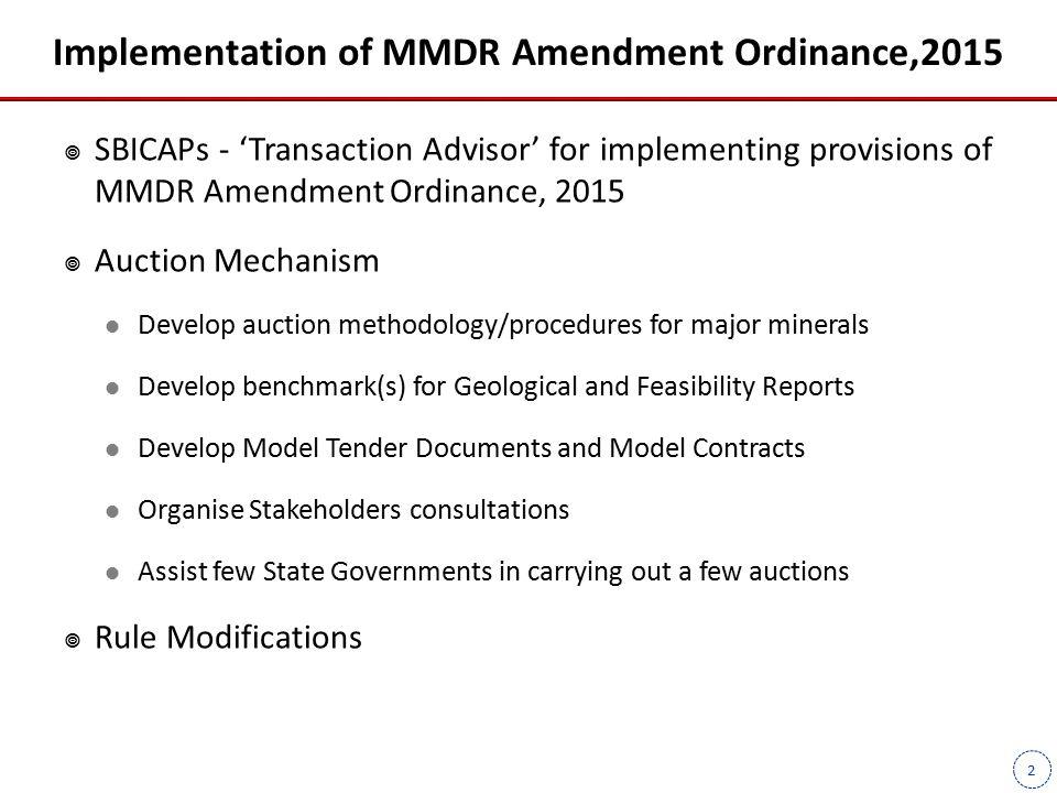 3 Proposed Auction Mechanism and Legislative Framework