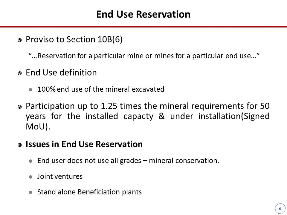 7 Bidding | Pre-requisites Pre-requisites for auctioning by State Government  Block Identification  Evidence of Mineral Contents  Requirements for earmarking for end use industry  In principle statutory clearances Forest(Stage I) Wildlife, etc.