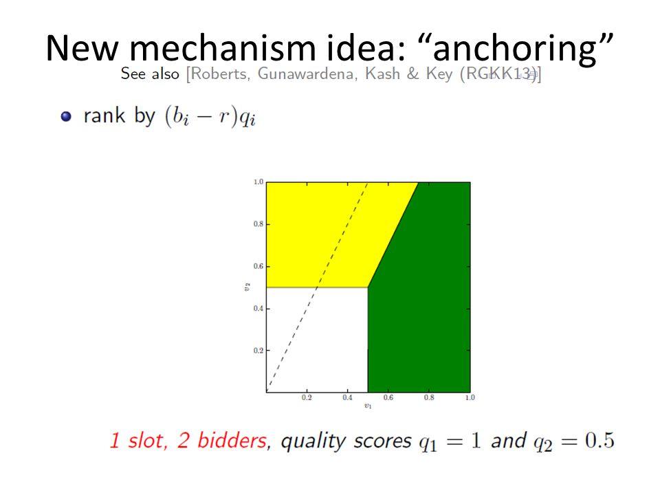 """New mechanism idea: """"anchoring"""""""