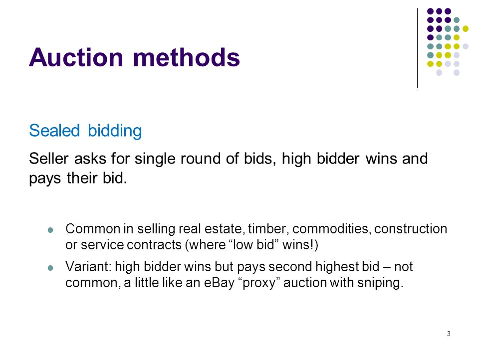 eBay Auction Prices (2003) 34 Auction prices often exceeded posted prices in 2003.