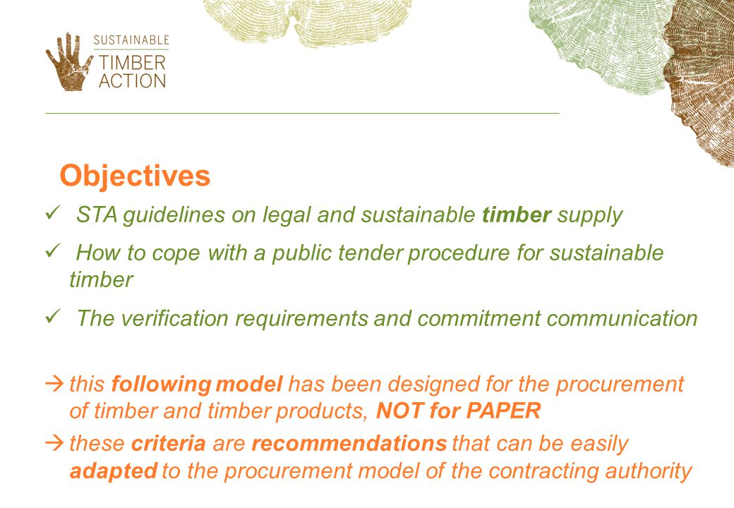 Award criteria about fair trade 20 points * will be awarded to [timber product(s)] produced according to the parameters of the European Parliament Resolution on Fair Trade and Development (2005/2245(INI)).