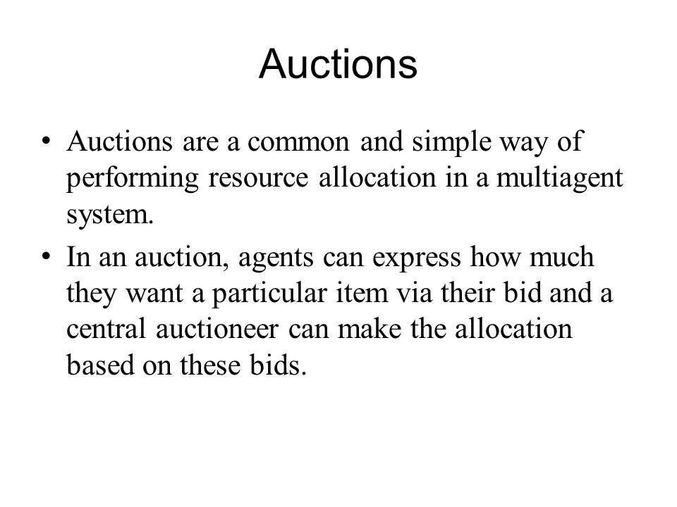Valuations The notation to refer to the utility that agent derives from state.
