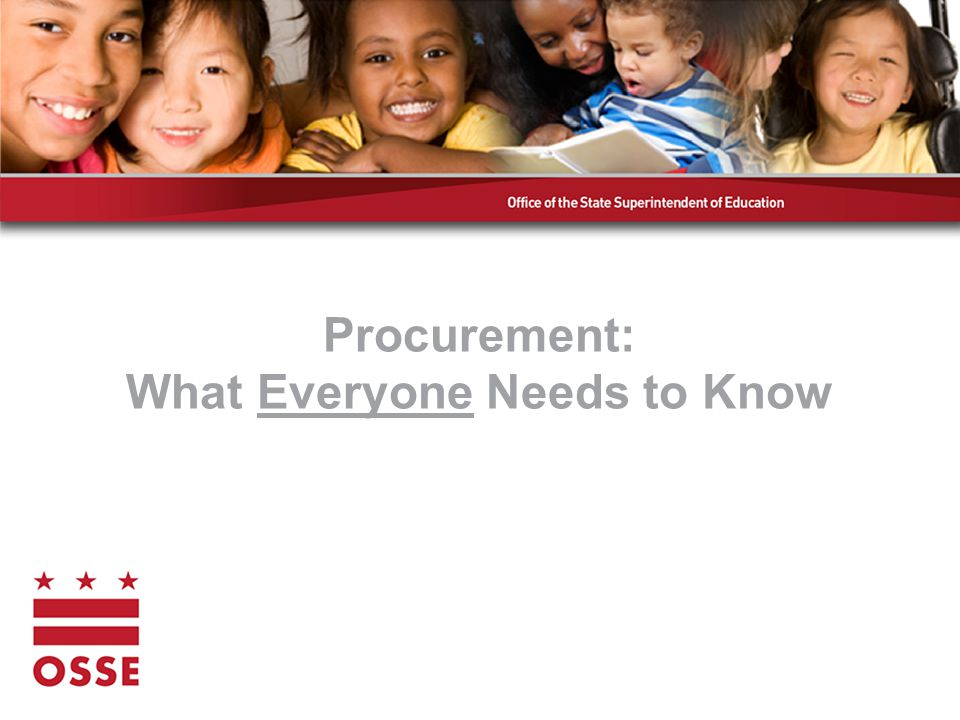 What is Procurement? The act of obtaining something