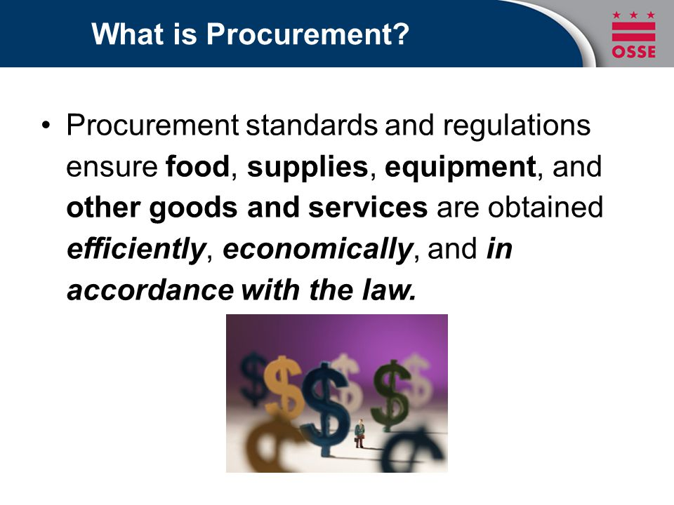 Why Do Procurement.