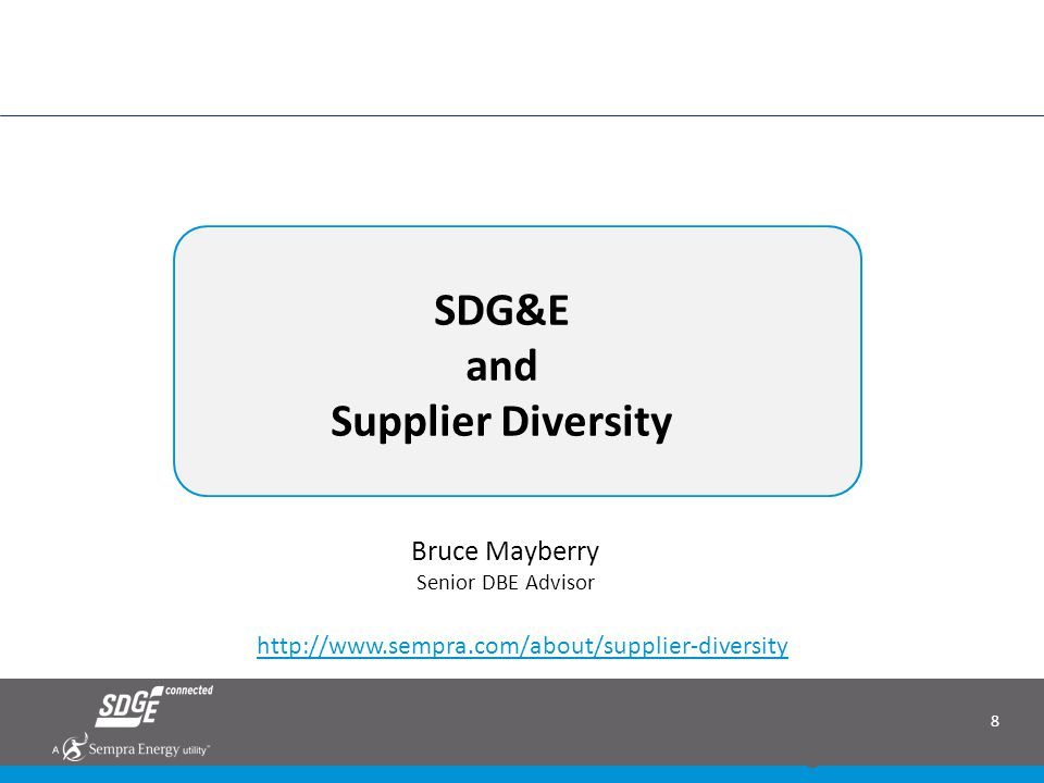 29 RFO Documentation Requirements SDG&E 2014 All Source RFO - Bidders Conference